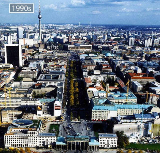 Büyük şehirlerin değişimi