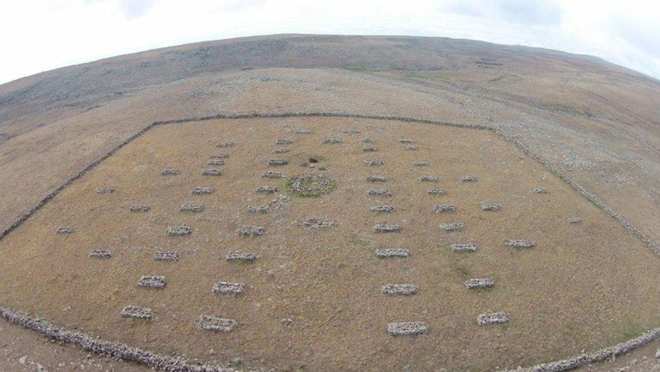 Define avcıları Erzurum'da şehitliği talan etti