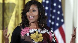Michelle Obama'ya yaptığı benzetme 70 bin kişiyi ayağa kaldırdı!