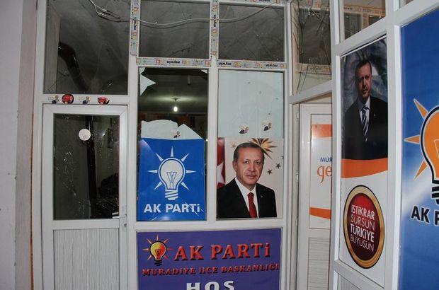 AK Parti Muradiye İlçe binası Van
