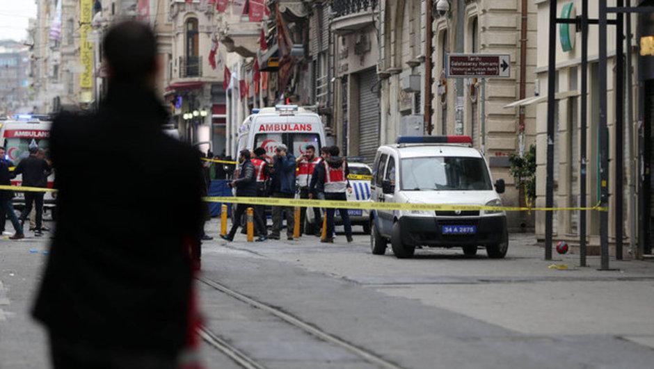 İstiklal Caddesi saldırı