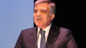 Abdullah Gül'den AB ve OHAL eleştirisi