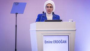 Emine Erdoğan: Kadın ve erkek arasında bir hiyerarşiden değil, iş birliğinden söz edebiliriz