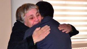 Bursa'da bir kadın 3 aylıkken ayrıldığı oğluna 34 yıl sonra kavuştu