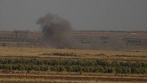 Taciz ateşi açan PKK'lılara bomba yağdı