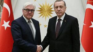 Cumhurbaşkanı Erdoğan, Frank-Walter Steinmeier'i kabul etti