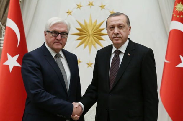 Recep Tayyip Erdoğan Frank-Walter Steinmeier