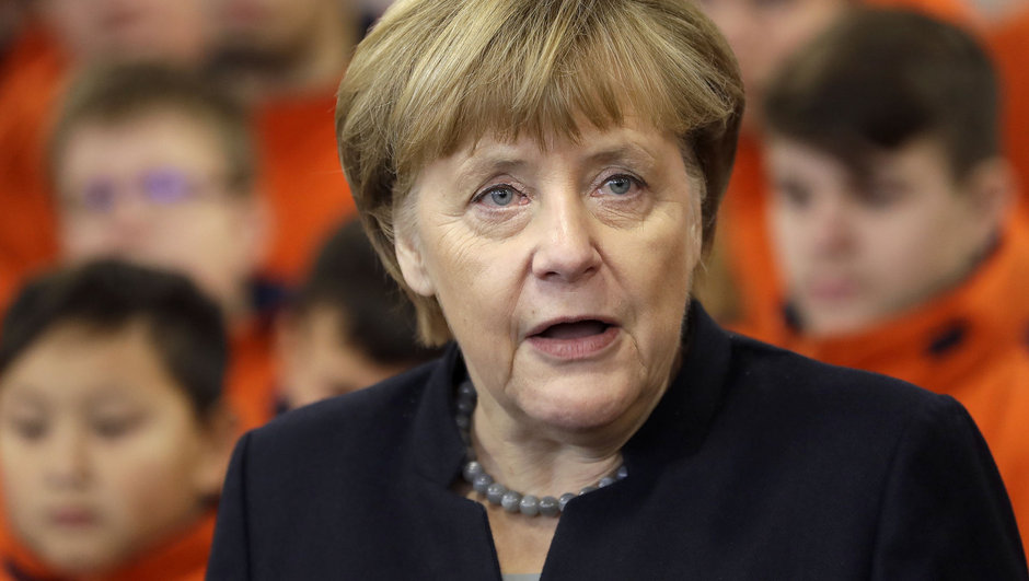 Angela Merkel Almanya