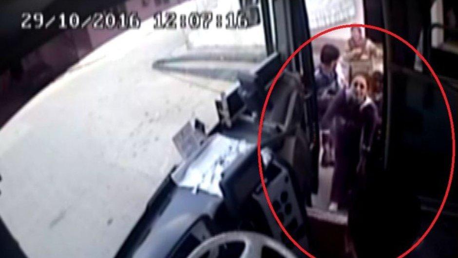 Manisa özel halk otobüsü kalp krizi