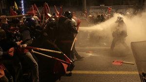 Atina'da, Obama'nın ziyaretine karşı gösteri