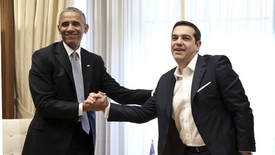 Aleksis Çipras Barack Obama