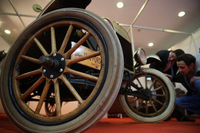 Bursa Otoshow Fuarı'nın gözdesi 1915 model Ford T oldu
