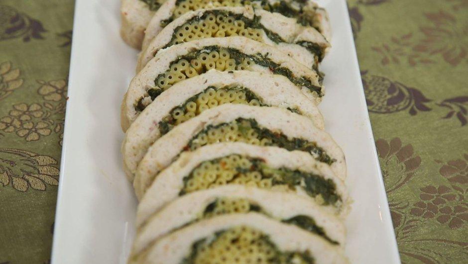 tavuklu ıspanaklı rulo diyet yemeği tarifi