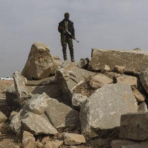 DEAŞ Nemrud antik kentini yerle bir etmiş!