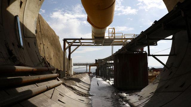 Türkiye'nin en uzun demiryolu çift tüp geçidinde çalışmalar sürüyor