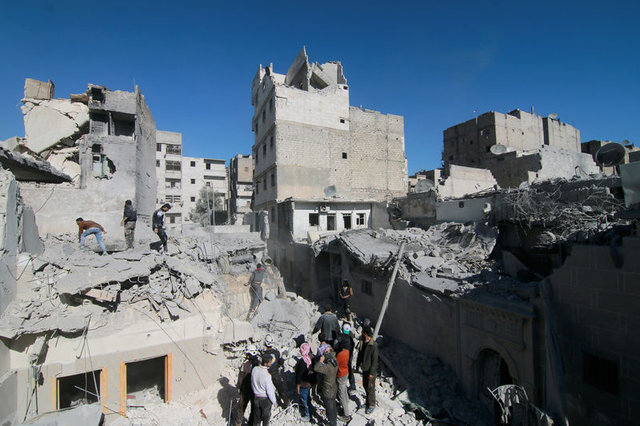 Halep'te insanlık askıya alındı!