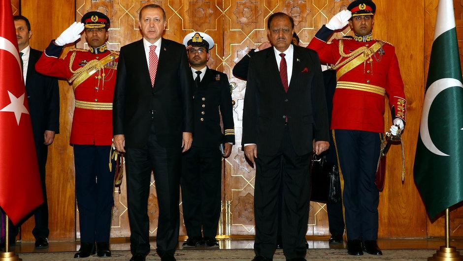 Recep Tayyip Erdoğan Pakistan