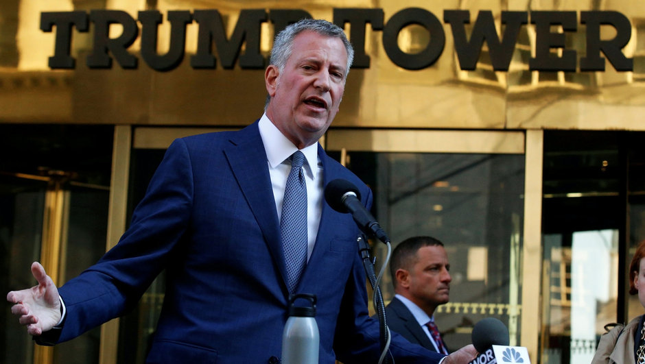 ABD Bill De Blasio New York