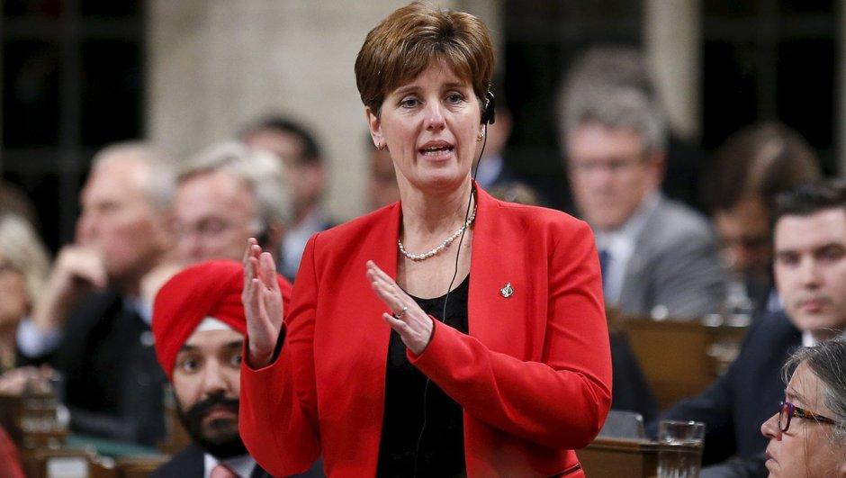 Kanada Uluslararası Kalkınma Bakanı Marie-Claude Bibeau
