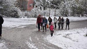 Ardahan Posof'ta okullara kar tatili