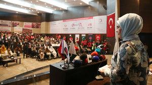 Emine Erdoğan TİKA'nın hibe törenine katıldı