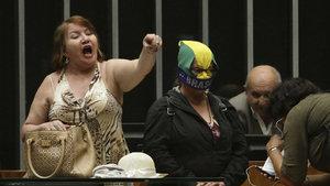 Brezilya'da darbe yanlısı grup kongreyi bastı