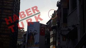 Taksim'de intihar girişimi