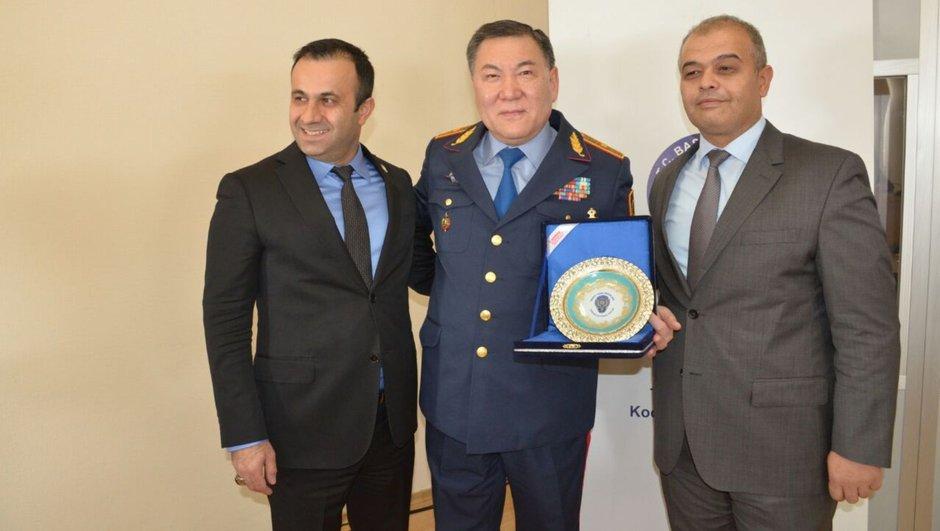 Türkiye Kazakistan polis eğitim desteği
