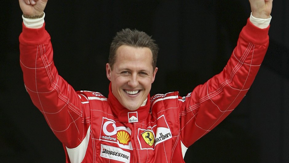 Michael Schumacher Ross Brawn