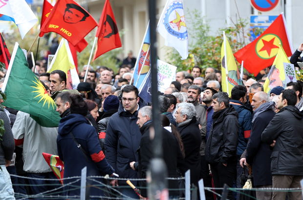 Belçika Brüksel PKK
