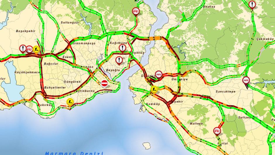 istanbul, trafik