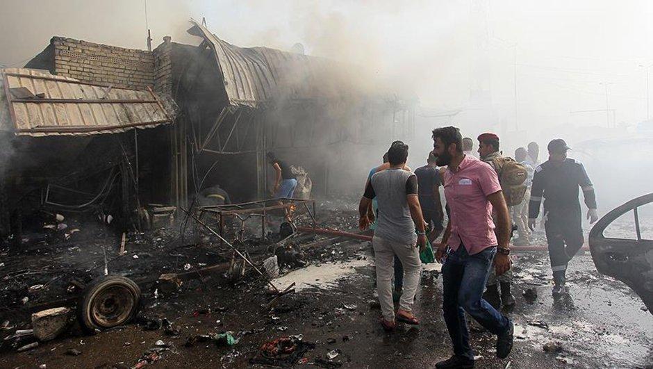 Irak'ta düğün salonuna bombalı saldırı
