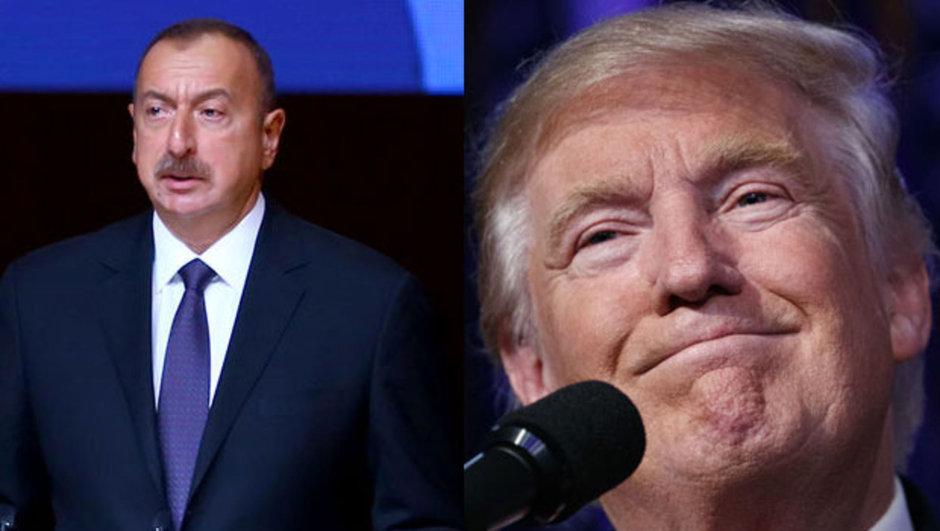 donald trump ilham aliyev