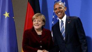 Angela Merkel'den Esed ve Obama açıklaması