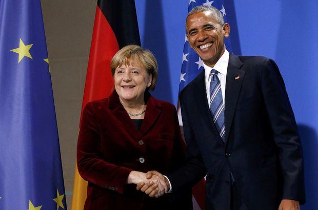 Barack Obama Angela Merkel