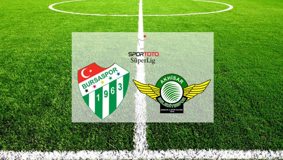 Bursaspor - Akhisar Belediyespor maçı