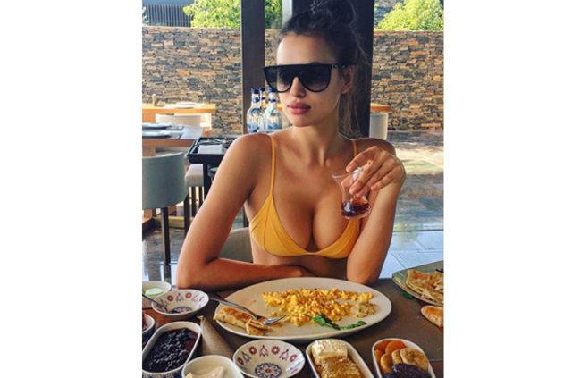 Irina Shayk'ın çıplak selfiesi olay oldu