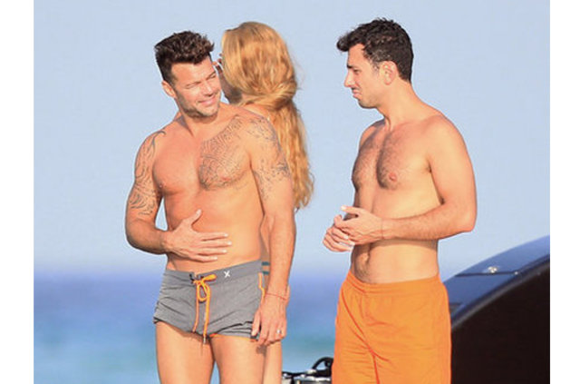 Ricky Martin nişanlandı