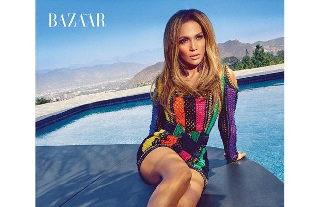 Jennifer Lopez yine çok cesur