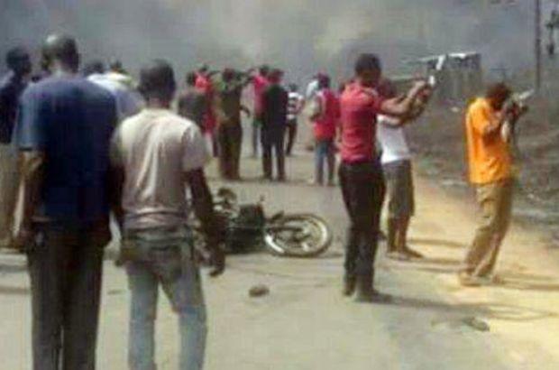 Mozambik'te yakıt tankeri patladı