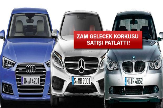 Yeni ÖTV planı Alman markalar otomobil