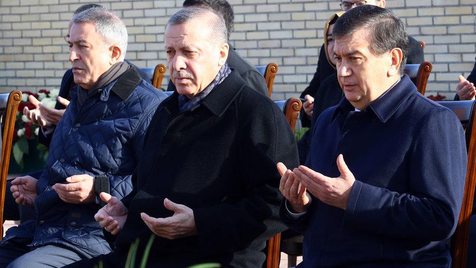 Cumhurbaşkanı Recep Tayyip Erdoğan Özbekistan'da