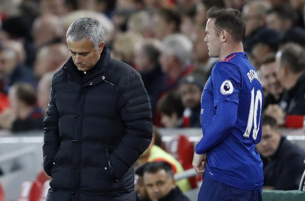 Jose Mourinho Wayne Rooney Manchester United