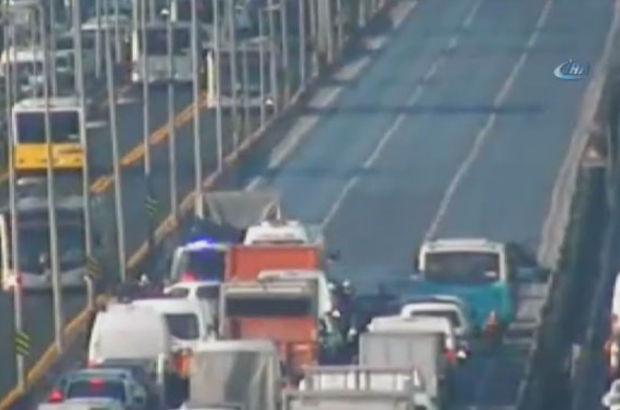 SON DAKİKA! E-5 otoyolu Küçükçekmece Kavşağı'nda kaza