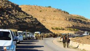 Terör örgütü YPG'nin Münbiç oyunu bozuldu