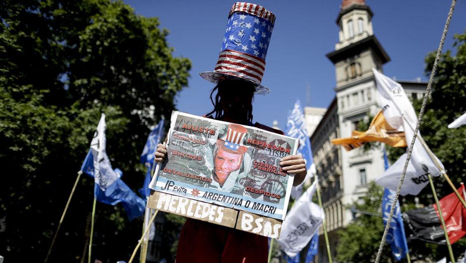 Arjantin gösteri yoksulluk