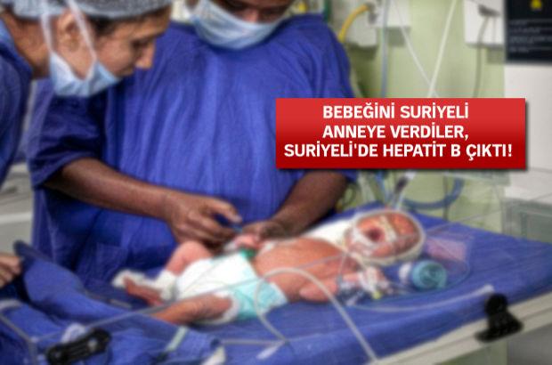 Rizeli annenin bebeği Yeni Doğan Yoğun Bakım Servisi Hepatit B