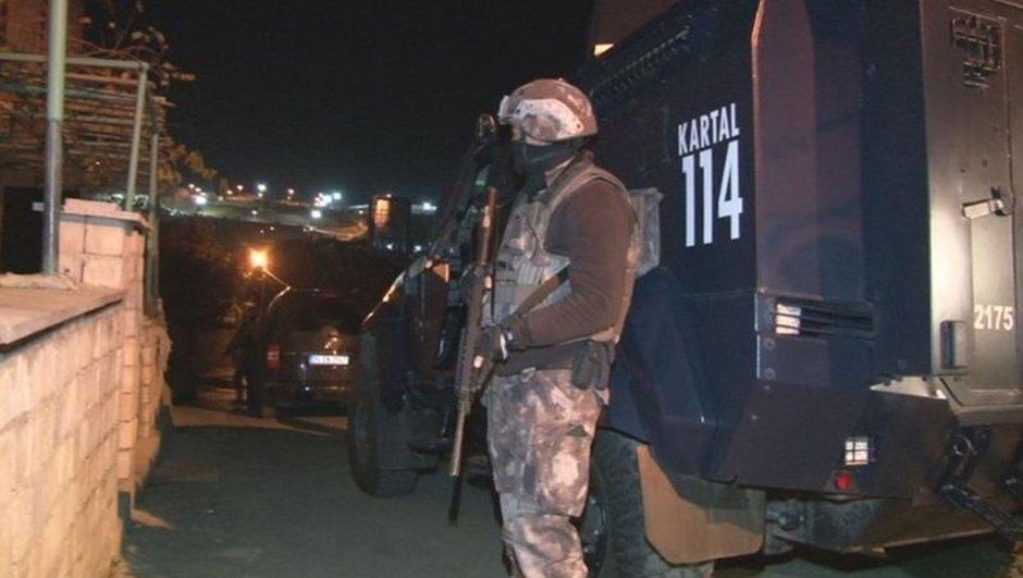 İstanbul'da helikopter destekli uyuşturucu operasyonu!