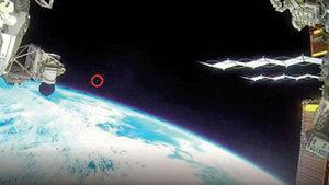 Canlı yayında UFO sansürü