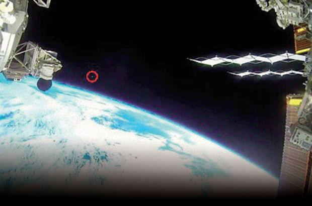 Canlı yayında UFO sansürü!